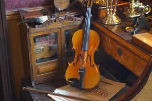 Sherlock's violin!
